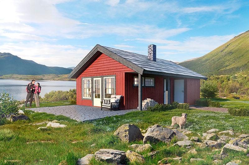 volva hytte astrid