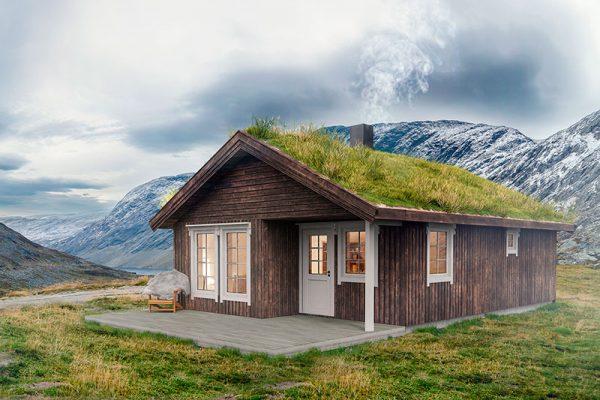 Volva hytte embla