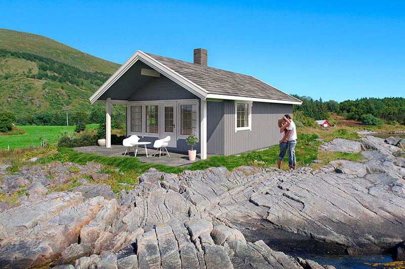 Volva hytte frøya