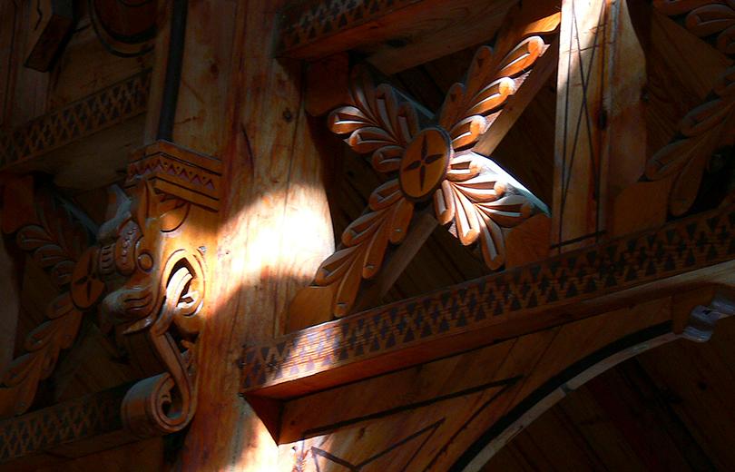 Detaljer fra Stave kirke