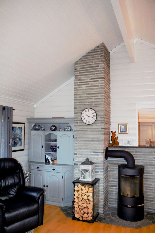 Eidsfjord Stue med ovn